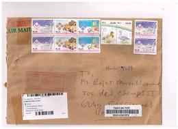 Lettre Recommandée De Karachi.Adressée En Belgique. - Pakistan