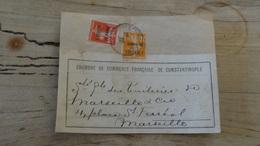 LEVANT : Grand Fragment De 1922 - Brieven En Documenten