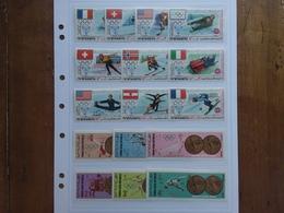 YEMEN - 2 Serie Olimpiadi Invernali E Estive - Nuovi ** + Spese Postali - Yémen
