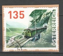 """Österreich 2018:  """"Dispenser-Mittenwaldbahn""""  Gestempelt (siehe Foto) - 1945-.... 2. Republik"""