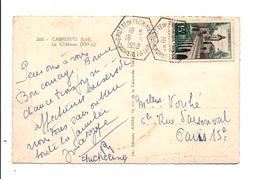OBLITERATION GROTTE DE PECH-MERLE A CABRERETS  LOT 1958 - Marcophilie (Lettres)