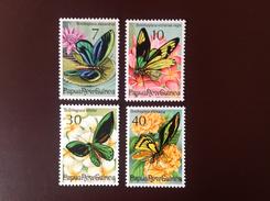 Papua New Guinea 1975 Butterflies MNH - Farfalle