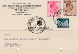 Romania - Medias - Advertise - Dr. Alfred Ambrosi - Vin - Viile - Pivnitele - Cartas