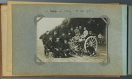 Guerre De 1914-18 . 3 Cartes Photos Prises Au Camp De Mailly . 41e D'Artillerie . Canon . - Guerre 1914-18