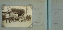 """Guerre De 1914-18 . Eclatement D'un Canon De 90 Mm . Position Du """"Balcon"""" à Wargemoulin Mars 1916 . 41e D'Artillerie . - Guerre, Militaire"""