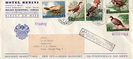 San Marino 1960 - Série Oiseaux - FDC - Bécasse Huppé - Birds - FDC