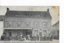 1 Cpa Westerloo : Hotel Bervaes (De Valk) Pension De Famille. Animation - Westerlo