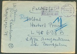 GERMANY KOLN 1944 COVER 41532 POSTAL STATIONERY SLOGAN CANCELLATION FPO - Germany