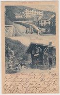 Gruss Aus Seewis - Bahnhof - 1901               (P-205-90423) - GR Grisons