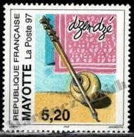 Mayotte 1997 Yvert 44, Musical Instrument, Dzen-Dze - MNH - Ongebruikt