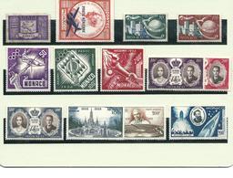MONACO : Lot De Poste Aérienne Neufs Sans Gomme. - Postzegels