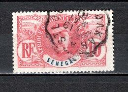 SENEGAL   N° 34    OBLITERE   COTE 1.10€    FAIDHERBE - Gebruikt