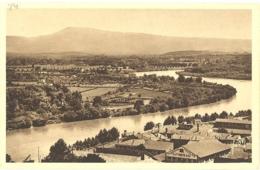 CPA - 84 - 56. AVIGNON - Vue Générale Sur La Vallée Du Rhône Et Le Mont Ventoux - Avignon
