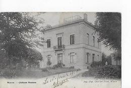 1 Cpa Wavre : Château Hennau - Waver