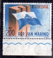 REPUBBLICA DI SAN MARINO 1963 EUROPA CEPT LIRE 200 MNH - San Marino