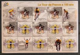 FRANCE - 2003 - YT BF 59 ** - LE TOUR DE FRANCE A 100 ANS - Blocks & Kleinbögen