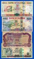 Ouganda  4  Billets - Ouganda