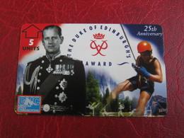 L&Gyr Phonecard,the Duke Of Edingburgh's Award - Gibraltar