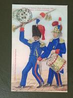 Tambour Et Tambour-major Ardennais, 1835 - Francia