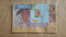 Enveloppe Argentine Avec Timbres De Fruits - Argentina
