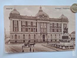 Belgrad, Hitelbank, Kreditbank,Deutsche Feldpost, 1918 - Serbie