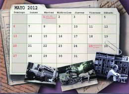 POLACOS DE LA PROVINCIA DE SANTA FE. POLISH. POLSKA. POLAND. MIGRATION TO ARGENTINA. CALENDARIO 2012. MAYO. MAY -NTVG. - Calendarios