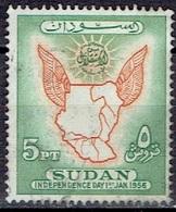 SUDAN #   FROM 1956  STAMPWORLD 153 - Soudan (1954-...)