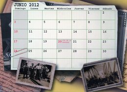 POLACOS DE LA PROVINCIA DE SANTA FE. POLISH. POLSKA. POLAND. MIGRATION TO ARGENTINA. CALENDARIO 2012. JUNIO JUNE. -NTVG. - Tamaño Grande : 2001-...