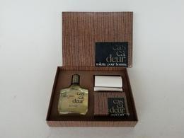 Coffret Ancien De Collection Création Neija France, Ca Ca Deur Toilette Pour Homme, Flacon After Shave Et Savon - Homme