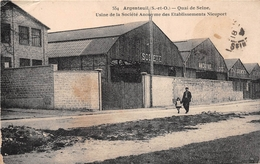 ¤¤  -   ARGENTEUIL    -  Quai De Seine  -  Usine De La Société Anonyme Des Etablissements Nieuport    -  ¤¤ - Argenteuil