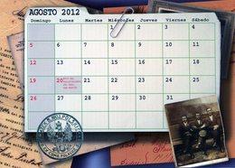 POLACOS DE LA PROVINCIA DE SANTA FE. POLISH. POLSKA. POLAND. MIGRATION TO ARGENTINA. CALENDARIO 2012. AGOSTO. -NTVG. - Tamaño Grande : 2001-...