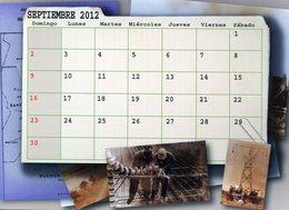POLACOS DE LA PROVINCIA DE SANTA FE. POLISH. POLSKA. POLAND. MIGRATION TO ARGENTINA. CALENDARIO 2012. SEPTIEMBRE. -NTVG. - Calendarios