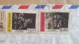 Enveloppe équatorienne Envoyée En Argentine Avec Orchidée Et Autres Timbres - Equateur