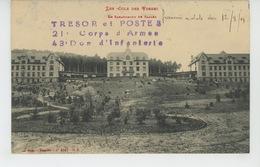 ALSACE - SAALES - Le Sanatorium (cachet Militaire ) - Francia