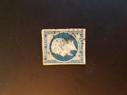 N°14, 20 Cts Bleu, PC 120,Argent Sur Sauldre, Cher. - 1849-1876: Klassik