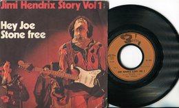 Jimi Hendrix - 45t Vinyle - Hey Joe - Story Vol 1 - Hard Rock & Metal