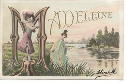 L170A044 - Madeleine - Les Noms Illustrés De La Marque Etoile - Hardy, Florence