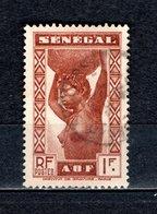 SENEGAL   N° 164   OBLITERE   COTE  0.70€    FEMME - Sénégal (1887-1944)