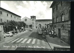 RB444  PERUGIA - VIA BRUNAMONTI E CHIESA DI MONTELUCE - Perugia