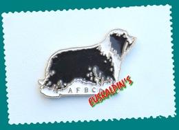 Pin's Association Française Du BORDER COLLIE, Chien, Dog - Animaux