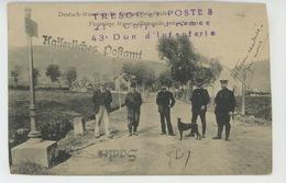 ALSACE - SAALES - Frontière Franco-allemande (cachet Militaire ) - Francia