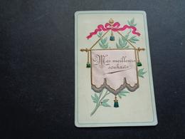 Carte ( 853 ) Mignonette  ( Pas Une Carte Postale )   - Carte Gaufrée  Reliëf  - A. Bernaerts - Autres