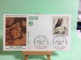Saint Jérome De Léonard De Vinci - 93 Puteaux - 8.11.1986 - FDC 1er Jour Coté ..€ - FDC