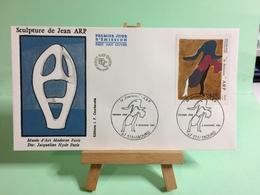 Scultire De Jean ARP - 67 Strasbourg - 8.11.1986 - FDC 1er Jour Coté ..€ - FDC