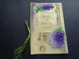 Carte ( 868 ) Mignonette  ( Pas Une Carte Postale )   - Carte De Voeux ( Petite ) - Nouvel An