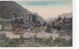 Suisse - Posta Del Gottardo 1. Juni 1909 - Schweiz