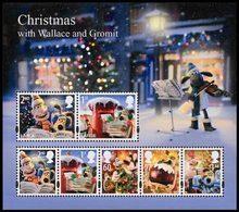 GRANDE-BRETAGNE Bloc Noël 2010 Wallace & Gromit Neuf ** MNH - Nuevos