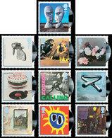 GRANDE-BRETAGNE Pochettes Disques Vinyl 10v 2010 Neuf ** MNH - Nuevos