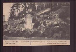 GUERRE 1914 / 15 CLERMONT EN ARGONNE APRES LE PASSAGE DES ALLEMANDS - War 1914-18