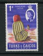 TURKS Et CAIQUES- Y&T N°199- Neuf Sans Charnière ** (cactus) - Turks & Caicos